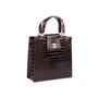 Authentic Vintage Chanel Crocodile Top Handle Bag (PSS-606-00014) - Thumbnail 1