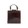 Authentic Vintage Chanel Crocodile Top Handle Bag (PSS-606-00014) - Thumbnail 2