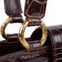 Authentic Vintage Chanel Crocodile Top Handle Bag (PSS-606-00014) - Thumbnail 6
