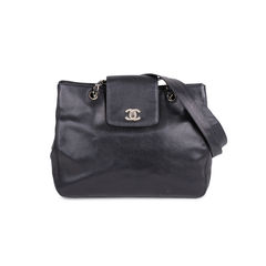 Caviar 'CC' Turnlock Bag