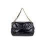 Authentic Second Hand Chanel Patent Vinyl Rock and Chain Large Flap Bag (PSS-606-00007) - Thumbnail 2