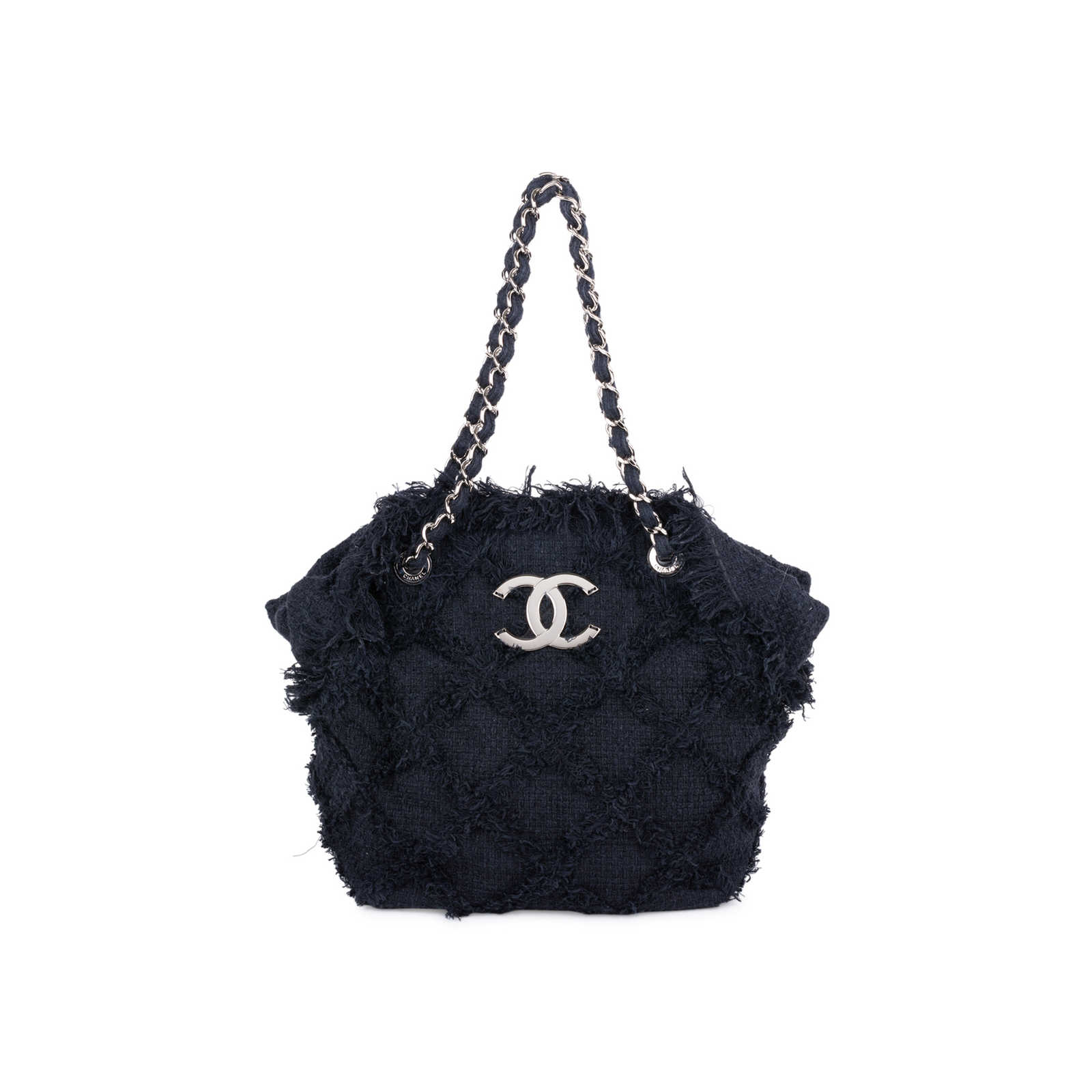 f64608a97 Authentic Second Hand Chanel Tweed Nature Tote Bag (PSS-606-00008) ...