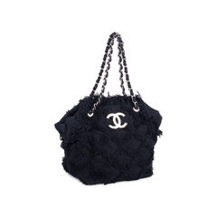 Chanel tweed nature tote bag 2?1547710376