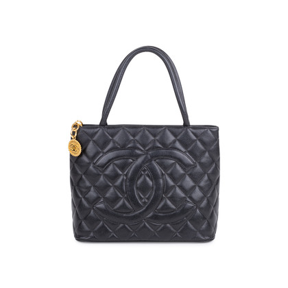 Authentic Vintage Chanel Medallion Tote Bag (PSS-606-00011)