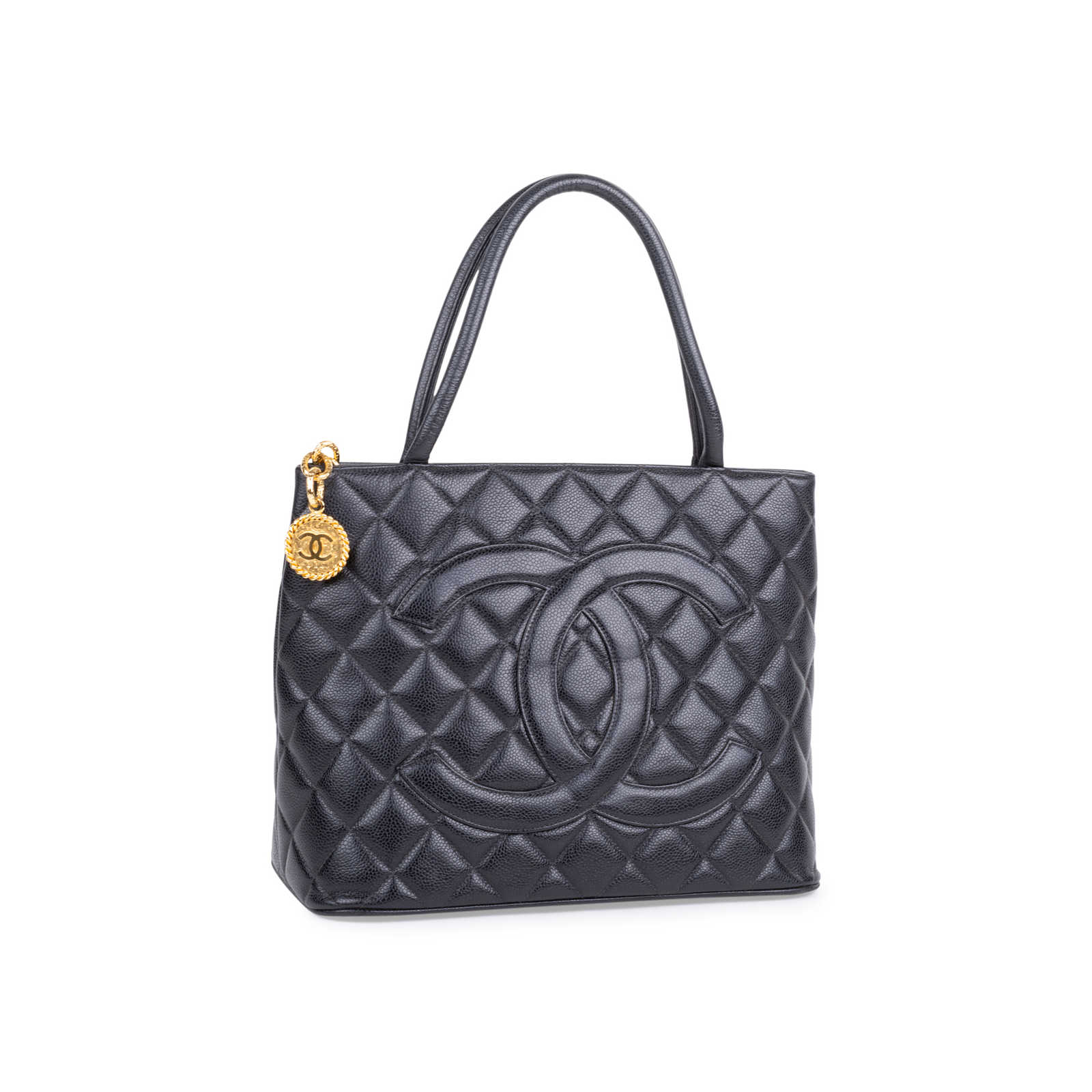 ... Authentic Vintage Chanel Medallion Tote Bag (PSS-606-00011) - Thumbnail  1 ... 8743398a2c6ba