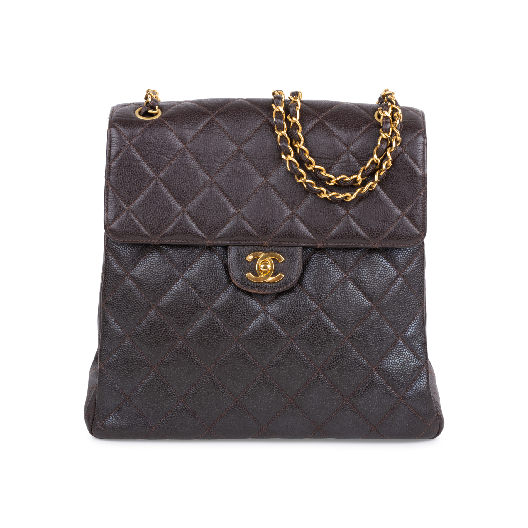 1d7b1005b Authentic Vintage Chanel Double Sided Flap Bag (PSS-606-00013) - THE FIFTH  COLLECTION