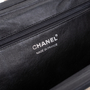 Authentic Second Hand Chanel Woven Kiss Lock Handbag (PSS-606-00015) - Thumbnail 1