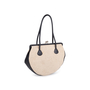 Authentic Pre Owned Chanel Woven Kiss Lock Handbag (PSS-606-00015) - Thumbnail 2