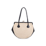 Authentic Pre Owned Chanel Woven Kiss Lock Handbag (PSS-606-00015) - Thumbnail 3