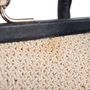 Authentic Second Hand Chanel Woven Kiss Lock Handbag (PSS-606-00015) - Thumbnail 6