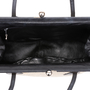 Authentic Pre Owned Chanel Woven Kiss Lock Handbag (PSS-606-00015) - Thumbnail 9