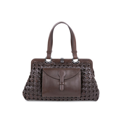Authentic Second Hand Bottega Veneta Limited Edition Top Frame Bag (PSS-606-00017)