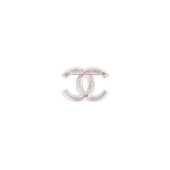 Chanel crystal cc brooch 2?1547716726