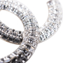 Authentic Second Hand Chanel Crystal CC Brooch (PSS-598-00001) - Thumbnail 3