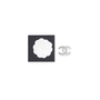 Authentic Second Hand Chanel Crystal CC Brooch (PSS-598-00001) - Thumbnail 4