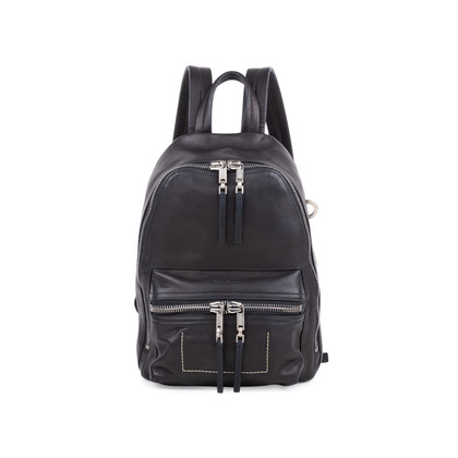 Authentic Second Hand Rick Owens Leather Backpack (PSS-059-00038)