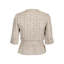 Authentic Pre Owned Chanel Spring 2010 Short Sleeve Tweed Blazer (PSS-606-00003) - Thumbnail 1