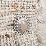 Authentic Pre Owned Chanel Spring 2010 Short Sleeve Tweed Blazer (PSS-606-00003) - Thumbnail 2