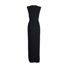 Badgley mischka tassel tie crepe gown 2?1547826499