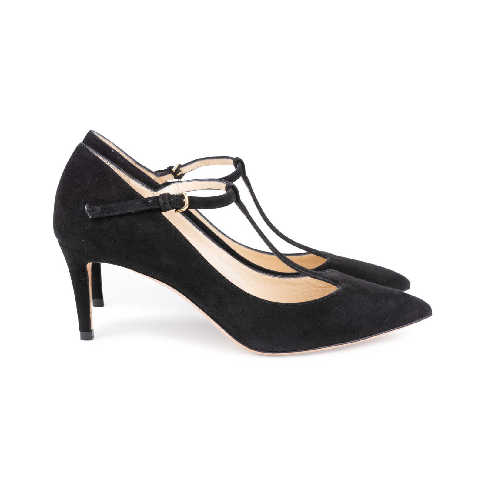db99dc2fa35 ... Authentic Second Hand Jimmy Choo Daria Suede Pumps (PSS-145-00272) ...