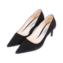 Authentic Second Hand Prada Suede Pointed Pumps (PSS-145-00273) - Thumbnail 3