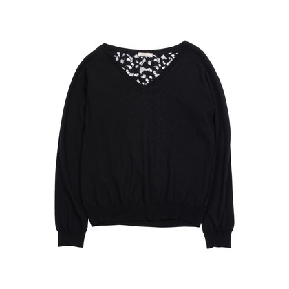 Authentic Pre Owned Nina Ricci Lace Back Sweater (PSS-145-00278)