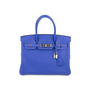 Authentic Pre Owned Hermès Bleu Electrique Birkin 30 (PSS-145-00268) - Thumbnail 0