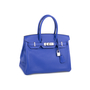 Authentic Pre Owned Hermès Bleu Electrique Birkin 30 (PSS-145-00268) - Thumbnail 1