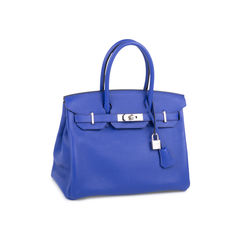 fc7601c87e Bleu Electrique Birkin 30 Hermes bleu elctrique birkin 30 2 1548169703
