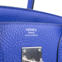 Authentic Pre Owned Hermès Bleu Electrique Birkin 30 (PSS-145-00268) - Thumbnail 5