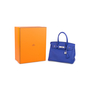 Authentic Pre Owned Hermès Bleu Electrique Birkin 30 (PSS-145-00268) - Thumbnail 10