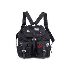 2018 Logo Fabric Backpack