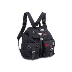 Prada 2018 logo fabric backpack 2?1548169841