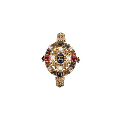 Authentic Pre Owned Chanel Paris-Byzance Brooch (PSS-145-00270)