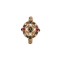 Authentic Pre Owned Chanel Paris-Byzance Brooch (PSS-145-00270) - Thumbnail 0