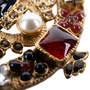 Authentic Pre Owned Chanel Paris-Byzance Brooch (PSS-145-00270) - Thumbnail 3