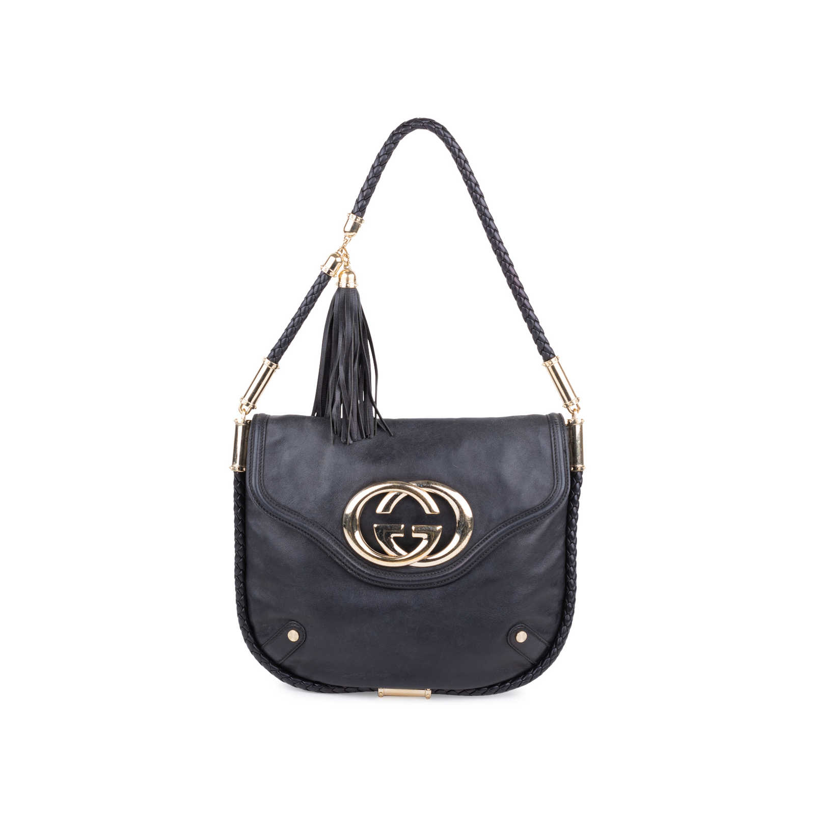 2b35b4a7ca2 Authentic Second Hand Gucci Britt Tassel Bag (PSS-597-00001) - Thumbnail ...
