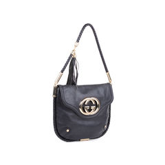 Gucci woven strap logo shoulder bag 2?1548170986