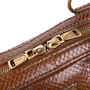 Authentic Pre Owned Yves Saint Laurent Large Python Muse Bag (PSS-597-00003) - Thumbnail 5