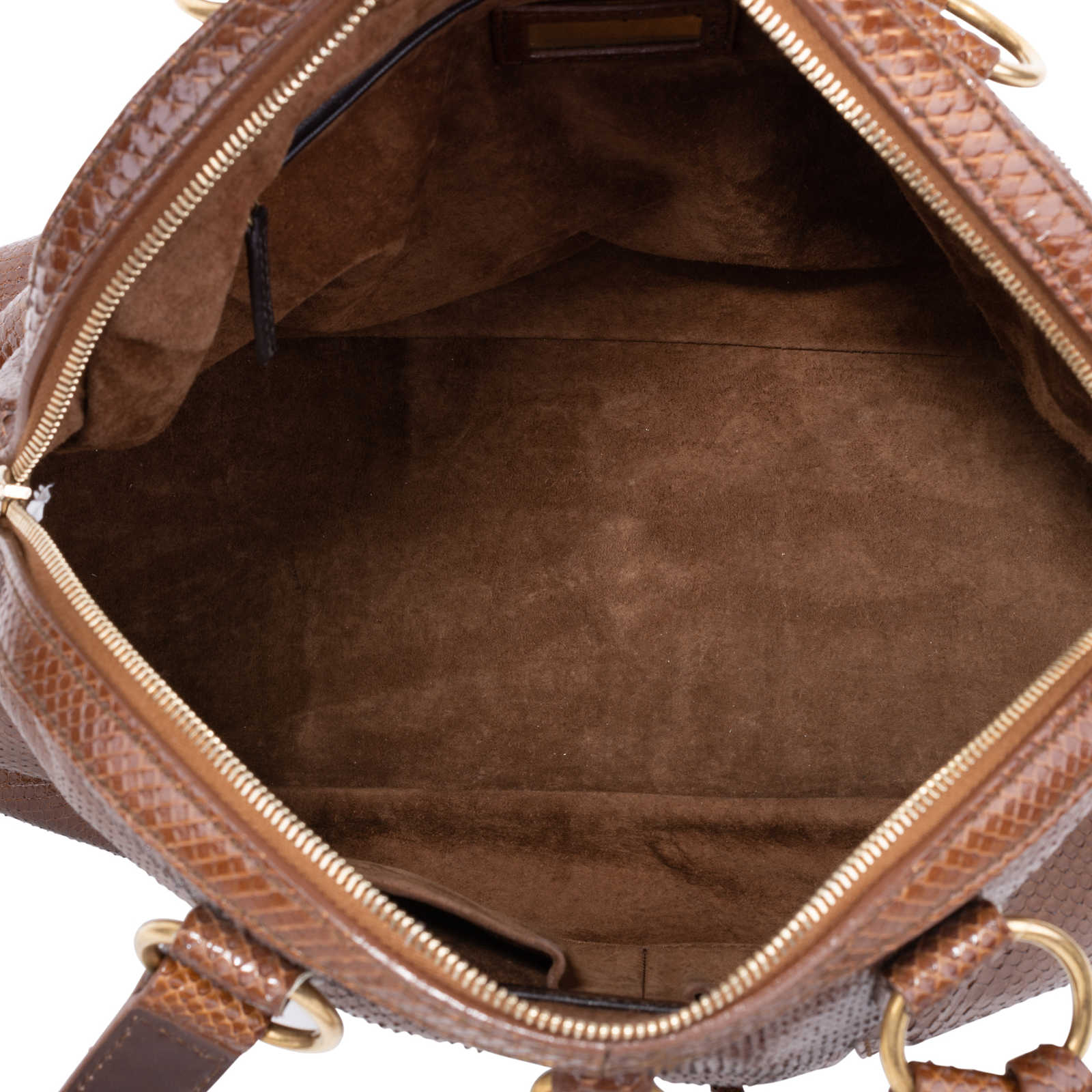 584f1f93df96 ... Authentic Pre Owned Yves Saint Laurent Large Python Muse Bag (PSS-597- 00003 ...