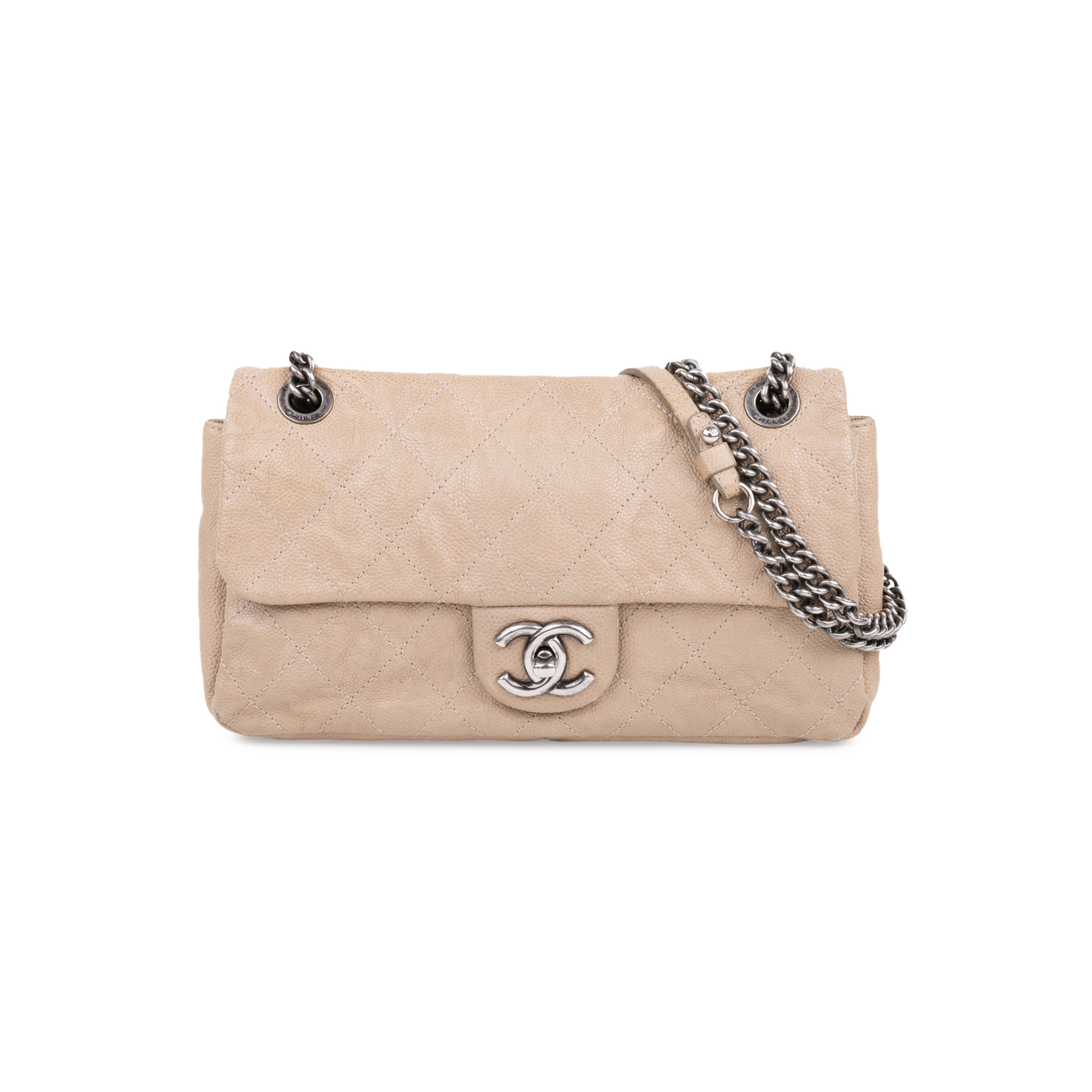 184c99b6fb6b8b Authentic Second Hand Chanel Simply CC Caviar Flap Bag (PSS-597-00004) |  THE FIFTH COLLECTION