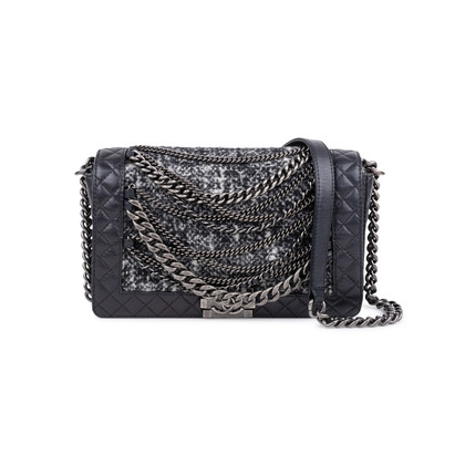 Authentic Second Hand Chanel Enchained Boy Bag (PSS-597-00006)