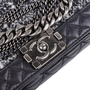 Authentic Second Hand Chanel Enchained Boy Bag (PSS-597-00006) - Thumbnail 6