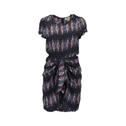 Authentic Second Hand Isabel Marant Étoile Ruffled Printed Dress (PSS-126-00125)