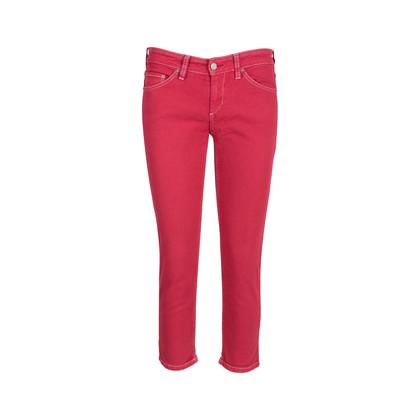 Authentic Pre Owned Isabel Marant Étoile Multicoloured Stitch Denim Jeans (PSS-126-00129)