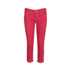Multicoloured Stitch Denim Jeans