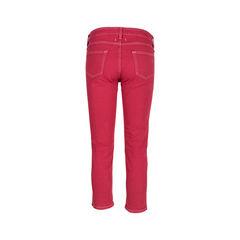 Isabel marant etoile multicoloured stitch denim jeans 2?1548204858