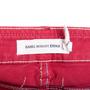 Authentic Second Hand Isabel Marant Étoile Multicoloured Stitch Denim Jeans (PSS-126-00129) - Thumbnail 2