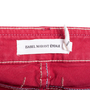 Authentic Pre Owned Isabel Marant Étoile Multicoloured Stitch Denim Jeans (PSS-126-00129) - Thumbnail 2