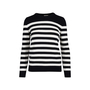 Authentic Second Hand Saint Laurent Striped Cashmere Sweater (PSS-126-00132) - Thumbnail 0
